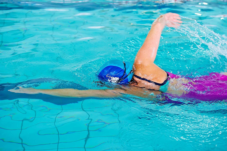 Swimming at Aura in Leitrim
