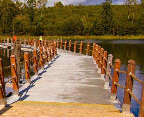 Acres Lake Boardwalk in Leitrim