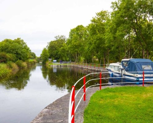 Moored on the Shannon Blueway