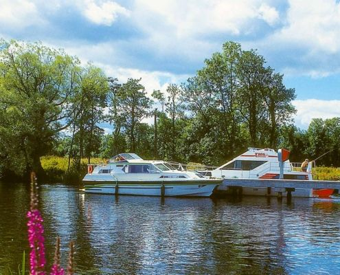 Cruising on the Shannon Erne Waterway