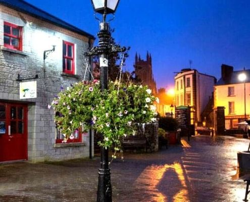 Evening in Carrick on Shannon