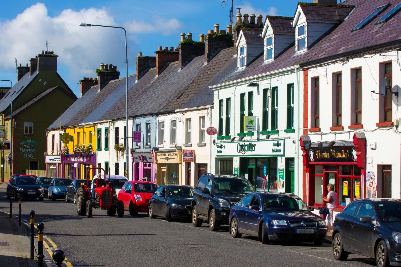 Main street in Manorhamilton