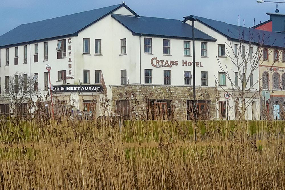 View of Cryans Hotel
