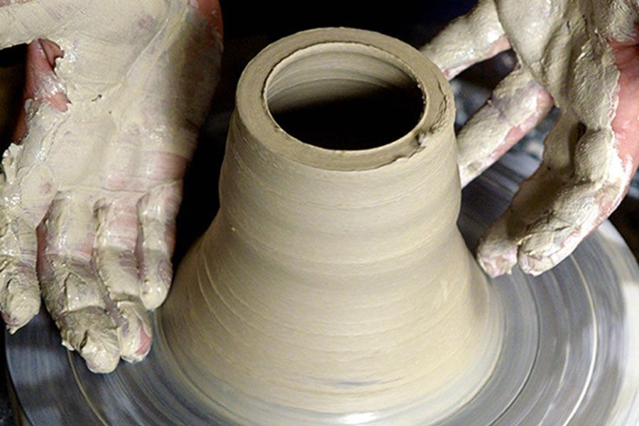 Pottery workshop in Leitrim