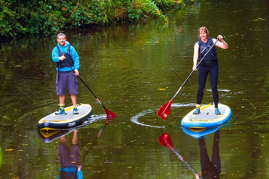 Stand Up Paddling in Leitrim