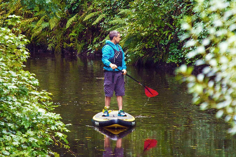 Stand Up Paddle boarder in Leitrim