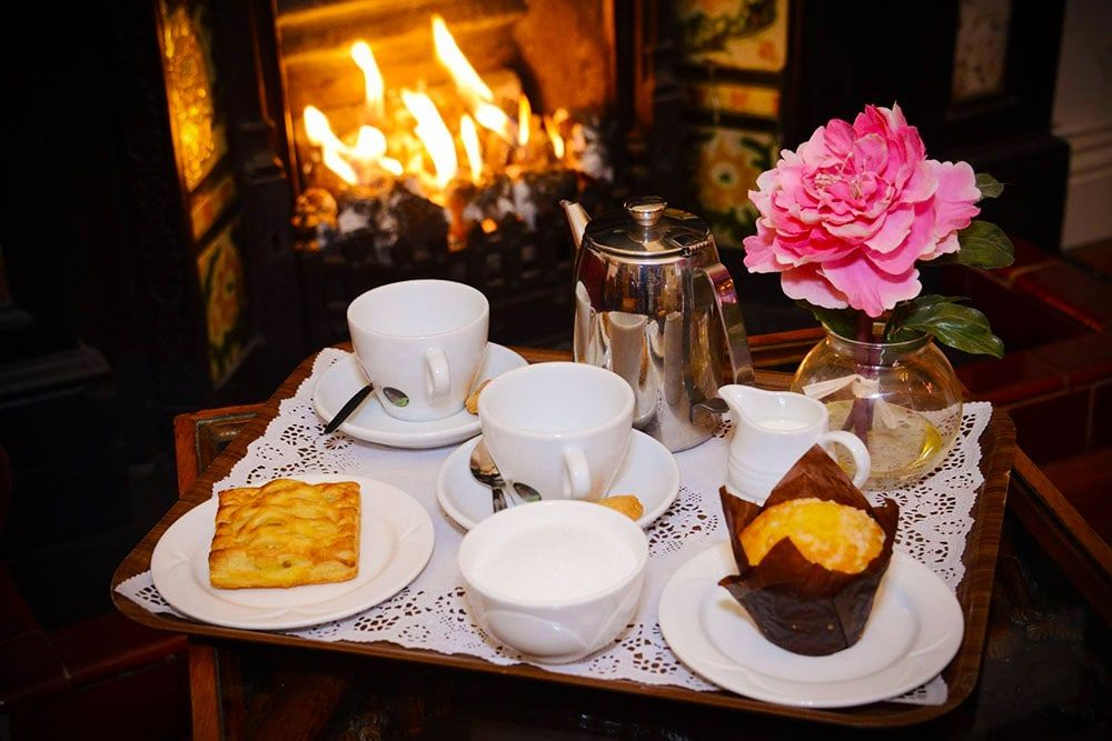 Afternoon tea at the Bush Hotel in Carrick on Shannon