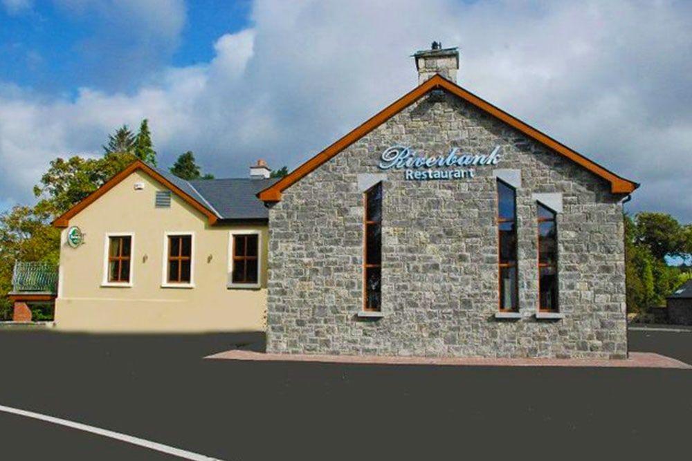 the Riverback Restaurant in Leitrim