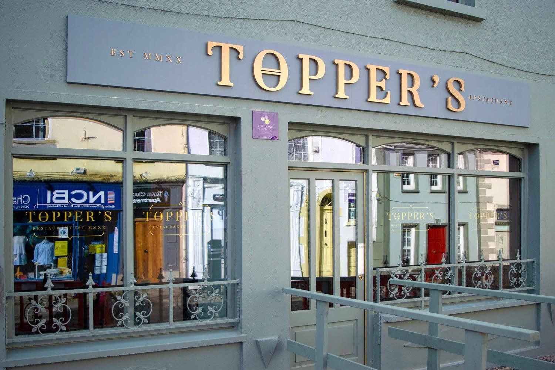 Toppers retaurant in Leitrim